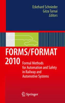 Schnieder, Eckehard - FORMS/FORMAT 2010, ebook