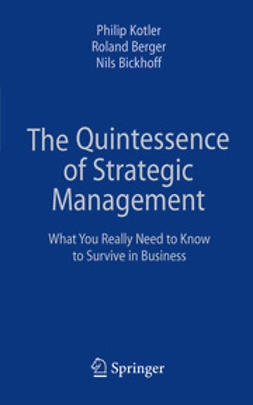 Kotler, Philip - The Quintessence of Strategic Management, ebook