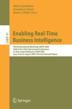 Castellanos, Malu - Enabling Real-Time Business Intelligence, ebook