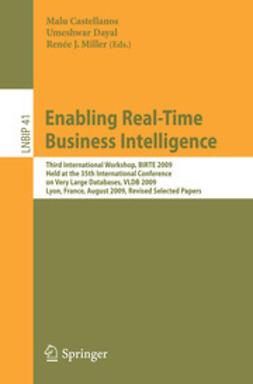 Castellanos, Malu - Enabling Real-Time Business Intelligence, ebook