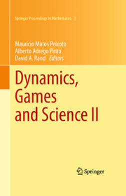 Peixoto, Mauricio Matos - Dynamics, Games and Science II, e-bok