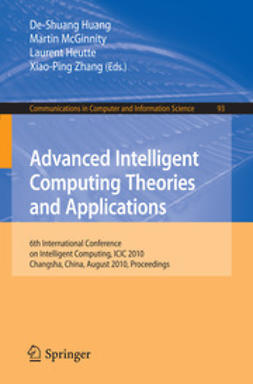 Heutte, Laurent - Advanced Intelligent Computing Theories and Applications, e-bok