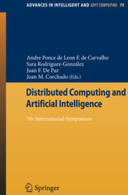 Carvalho, Andre Ponce Leon F. de - Distributed Computing and Artificial Intelligence, e-bok