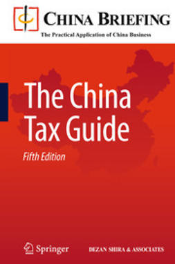 Devonshire-Ellis, Chris - The China Tax Guide, ebook