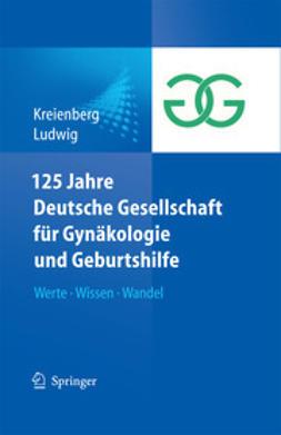 Kreienberg, Rolf - 125 Jahre Deutsche Gesellschaft für Gynäkologie und Geburtshilfe, e-bok