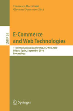 Buccafurri, Francesco - E-Commerce and Web Technologies, e-bok
