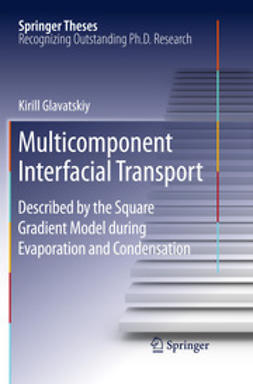 Glavatskiy, Kirill - Multicomponent Interfacial Transport, e-bok