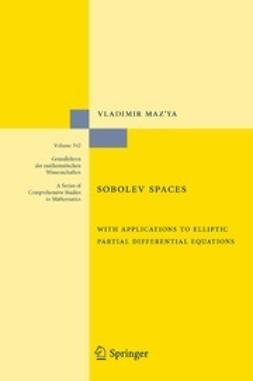 Maz'ya, Vladimir - Sobolev Spaces, ebook