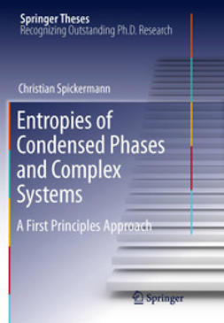 Spickermann, Christian - Entropies of Condensed Phases and Complex Systems, ebook