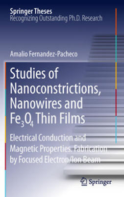 Fernandez-Pacheco, Amalio - Studies of Nanoconstrictions, Nanowires and Fe₃O₄ Thin Films, ebook