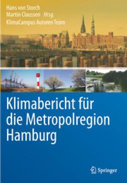 Storch, Hans von - Klimabericht für die Metropolregion Hamburg, ebook