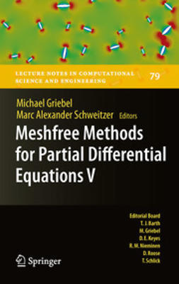 Griebel, Michael - Meshfree Methods for Partial Differential Equations V, e-bok