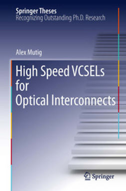 Mutig, Alex - High Speed VCSELs for Optical Interconnects, ebook