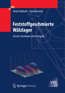 Birkhofer, Herbert - Feststoffgeschmierte Wälzlager, ebook