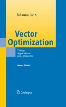Jahn, Johannes - Vector Optimization, ebook