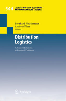 Fleischmann, Bernhard - Distribution Logistics, ebook