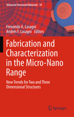 Lasagni, Fernando A. - Fabrication and Characterization in the Micro-Nano Range, ebook