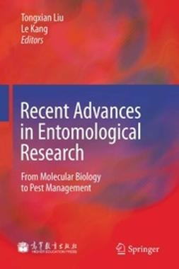 Liu, Tongxian - Recent Advances in Entomological Research, e-bok