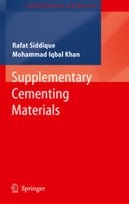 Siddique, Rafat - Supplementary Cementing Materials, ebook