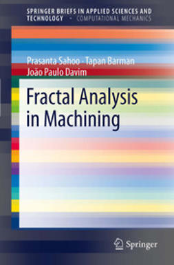 Sahoo, Prasanta - Fractal Analysis in Machining, ebook