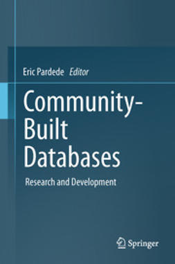 Pardede, Eric - Community-Built Databases, ebook
