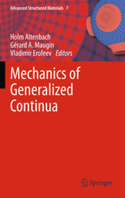 Altenbach, Holm - Mechanics of Generalized Continua, ebook