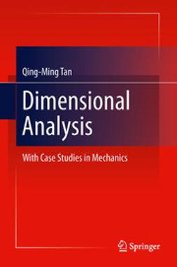 Tan, Qing-Ming - Dimensional Analysis, ebook