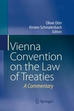 Dörr, Oliver - Vienna Convention on the Law of Treaties, ebook