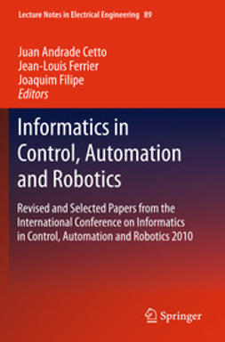 Cetto, Juan Andrade - Informatics in Control, Automation and Robotics, e-kirja
