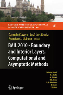 Clavero, Carmelo - BAIL 2010 - Boundary and Interior Layers, Computational and Asymptotic Methods, ebook