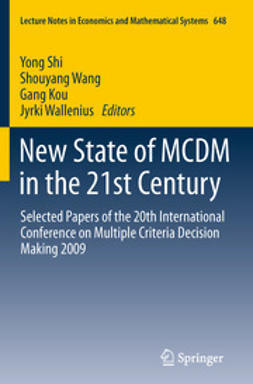 Shi, Yong - New State of MCDM in the 21st Century, ebook