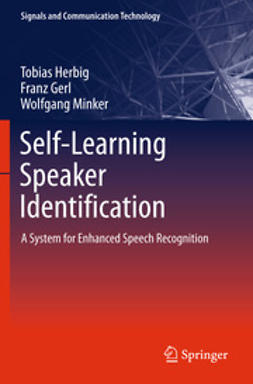 Herbig, Tobias - Self-Learning Speaker Identification, ebook