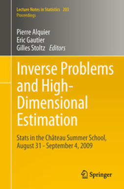 Alquier, Pierre - Inverse Problems and High-Dimensional Estimation, ebook