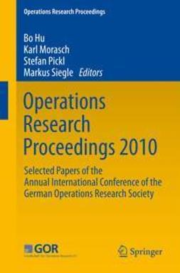 Hu, Bo - Operations Research Proceedings 2010, e-kirja