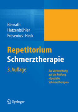 Benrath, Justus - Repetitorium Schmerztherapie, ebook