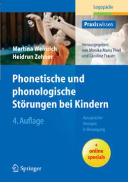 Weinrich, Martina - Phonetische und phonologische Störungen bei Kindern, ebook