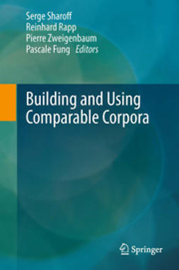 Sharoff, Serge - Building and Using Comparable Corpora, ebook