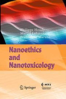 Houdy, Philippe - Nanoethics and Nanotoxicology, ebook