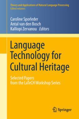 Sporleder, Caroline - Language Technology for Cultural Heritage, ebook