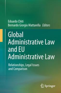 Chiti, Edoardo - Global Administrative Law and EU Administrative Law, ebook