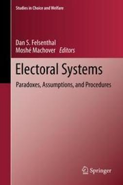 Felsenthal, Dan S. - Electoral Systems, e-bok