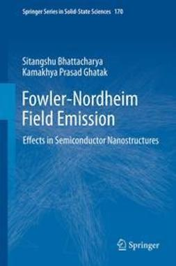 Bhattacharya, Sitangshu - Fowler-Nordheim Field Emission, ebook