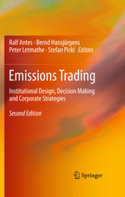 Antes, Ralf - Emissions Trading, ebook