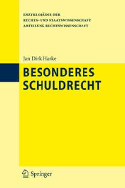 Harke, Jan Dirk - Besonderes Schuldrecht, ebook