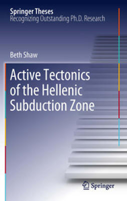Shaw, Beth - Active tectonics of the Hellenic subduction zone, e-bok