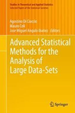 Ciaccio, Agostino Di - Advanced Statistical Methods for the Analysis of Large Data-Sets, ebook