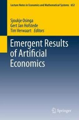 Osinga, Sjoukje - Emergent Results of Artificial Economics, ebook