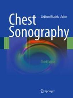 Mathis, Gebhard - Chest Sonography, ebook