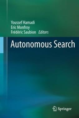 Hamadi, Youssef - Autonomous Search, ebook
