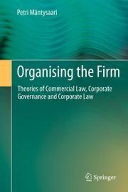 Mäntysaari, Petri - Organising the Firm, ebook